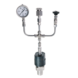 High pressure reactor RVD-1-25, Non stirred pressure vessels, low pressure reactor, high pressure reaction vessels - UOSlab.